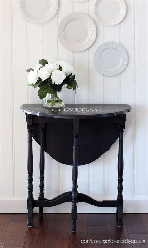Drop Leaf Table Makeover Confessions of a Serial Do it