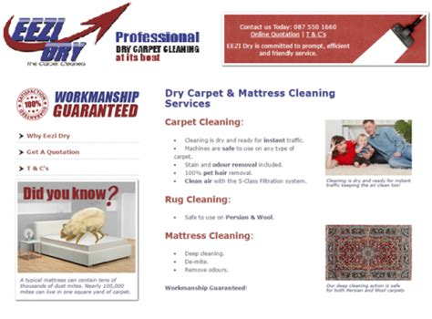 Dry Carpet Cleaning Services Gauteng EEZI Dry