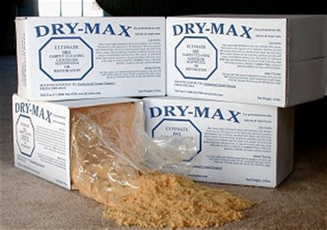 Dry Max The Ultimate Dry Carpet Cleaning Compound