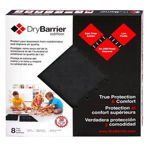 DryBarrier Subfloor True Protection Comfort