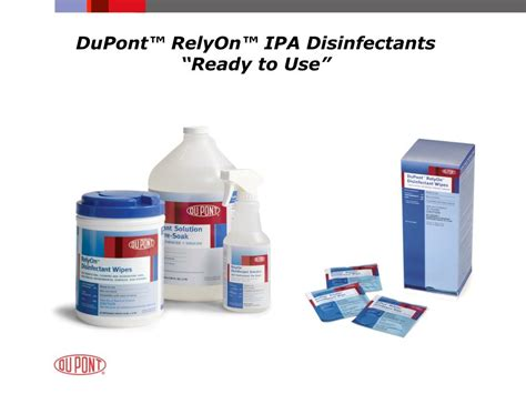 DuPont RelyOn MDC Multi Purpose Disinfectant Cleaner Bio