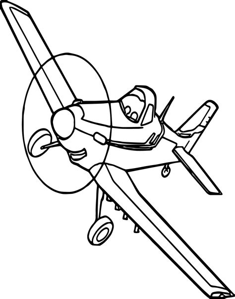 Dusty Coloring Page eoiham