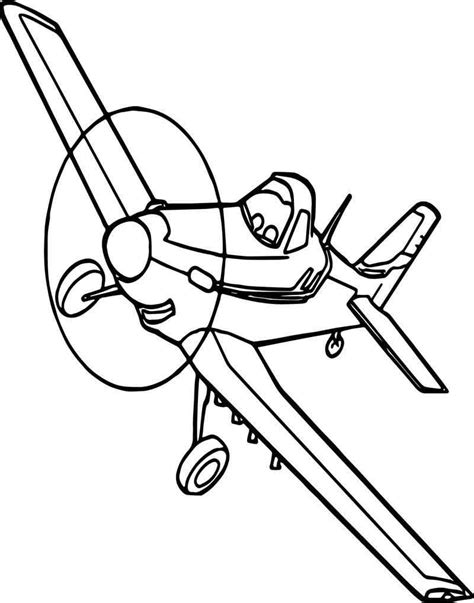 Dusty Coloring Pages yciltd