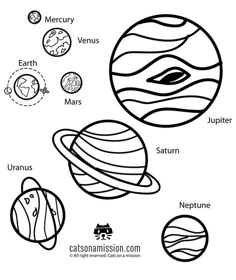 Dwarf Planets coloring page Free Printable Coloring Pages
