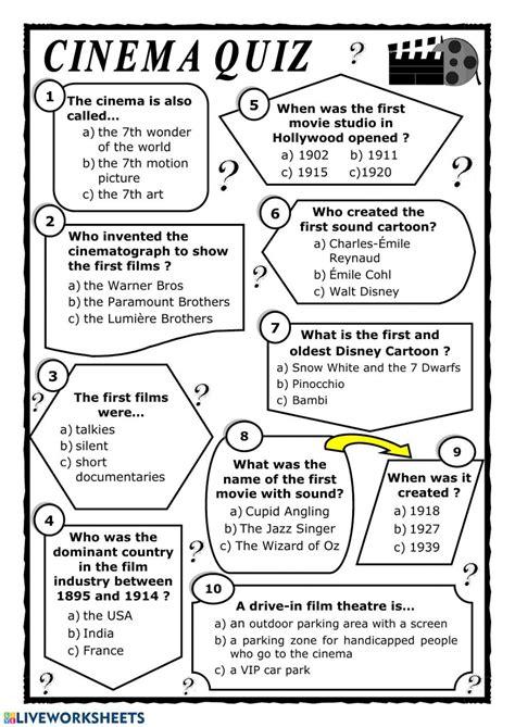 ESL Activities Using Videos Movie worksheets for TEFL