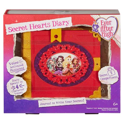 EVER AFTER HIGH SECRET HEARTS DIARY REVIEW VIDEO D