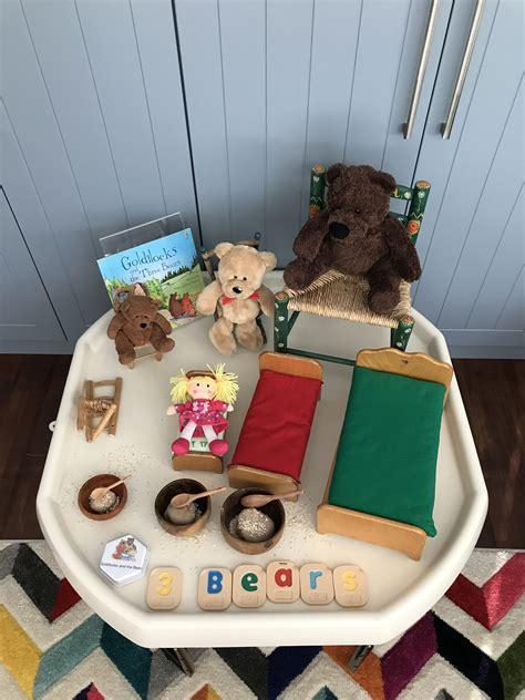 EYFS themed activity ideas Goldilocks and the three