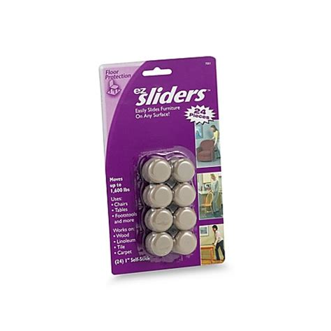 EZ Sliders 1 Inch Supersliders 24 Piece Value Pack Bed