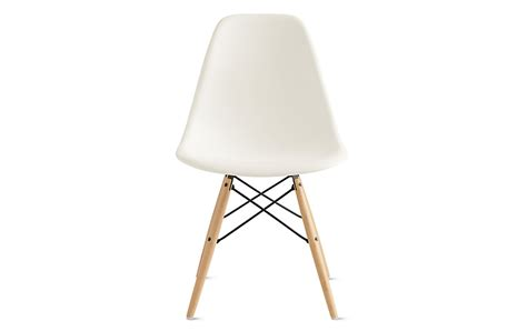 Eames Molded Plastic Dowel Leg Side Chair DSW