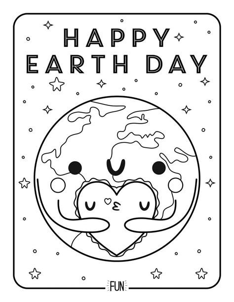 Earth Day Coloring Pages Fun interactive Earth Day