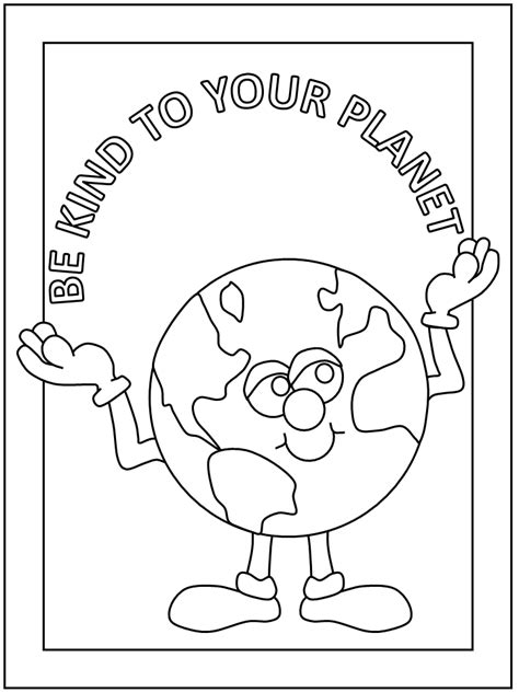 Earth Day coloring pages and posters DLTK Kids