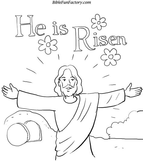 Easter Bible Coloring Pages Bible Story Printables