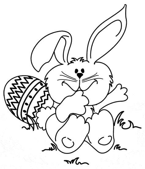 Easter Bunny Coloring Page crayola