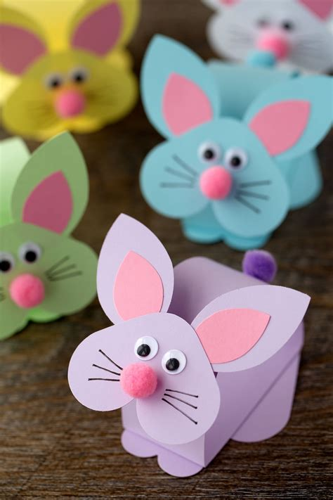 Easter Bunny Crafts for Kids Ideas to make Bunnies with