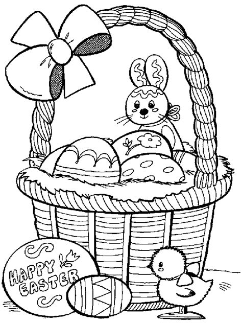 Easter Coloring Pages BlueBonkers Free Printable Kids