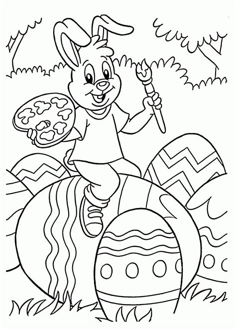 Easter Coloring Pages Fun interactive color book pages