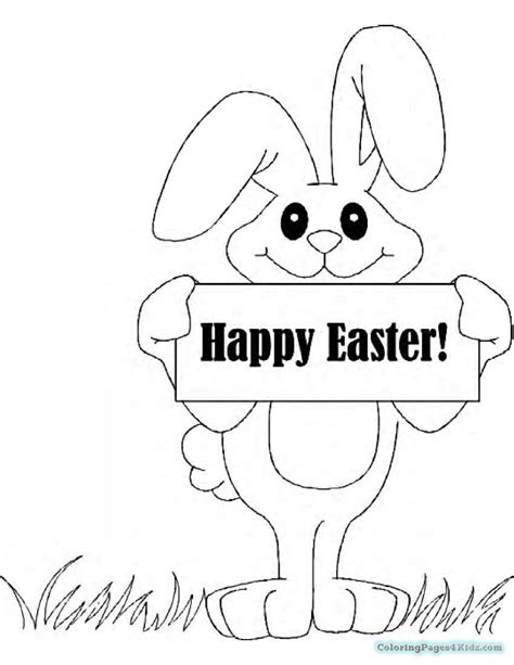 Easter Coloring Pages dltk holidays