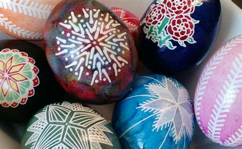 Easter Fun for Kids of All Ages Faux Pysanky and