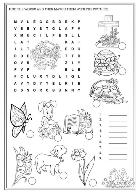 Easter Printables Resources