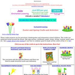 Easter and Spring Crafts Enchanted Learning