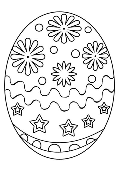 Easter fun coloring pages Easter Egg Printable color