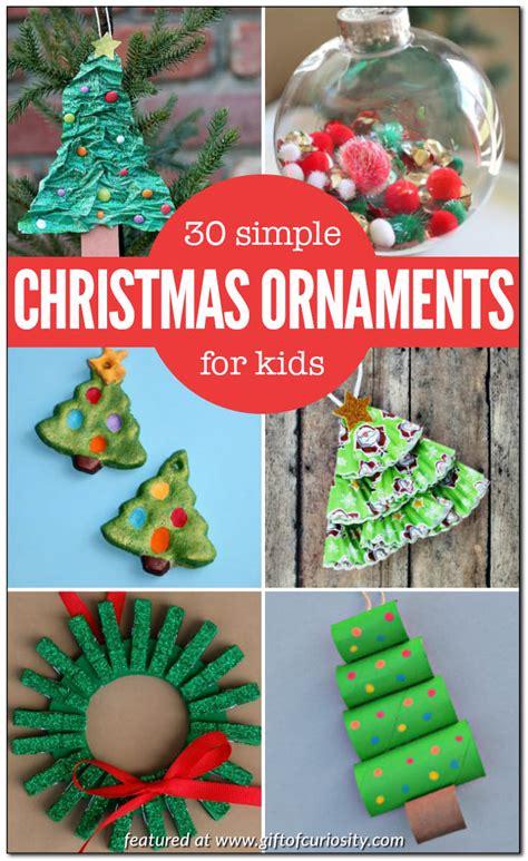 Easy Christmas Ornaments Kids Can Make