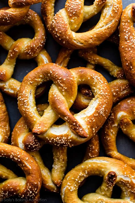Easy Homemade Soft Pretzels Sallys Baking Addiction