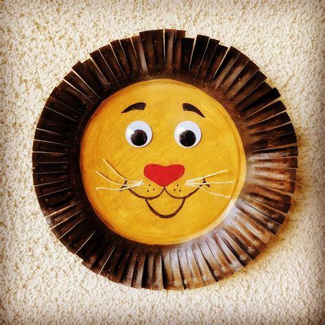Easy Lion Paper Plate Craft DLTK Kids