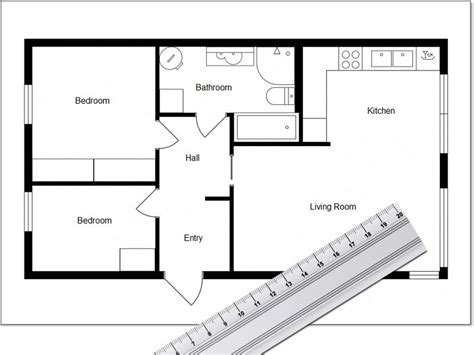 Easy Tools to Draw Simple Floor Plans ThoughtCo