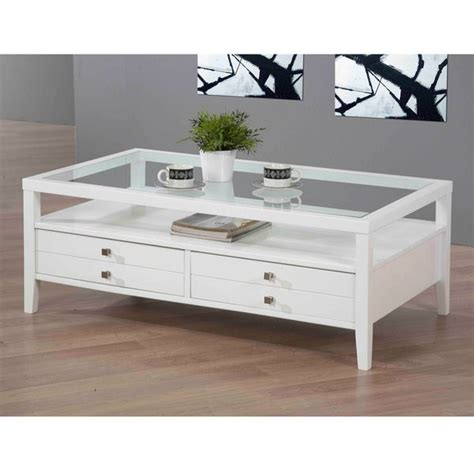 Echo Gloss Coffee Table with Pull Out Side Tables very