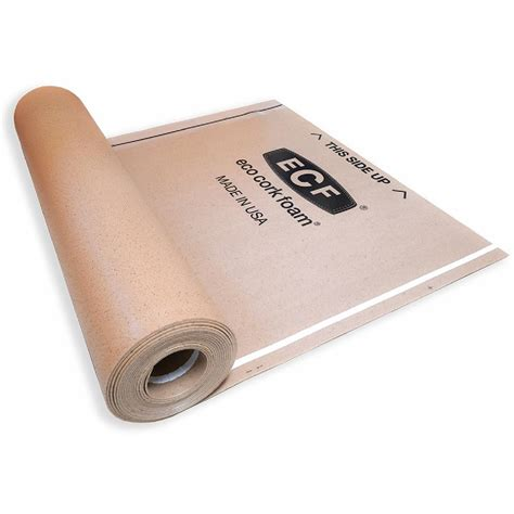Eco Cork Foam Laminate Flooring Underlayment Wood