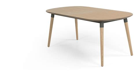 Edelweiss Extending Dining Table Ash and Grey made