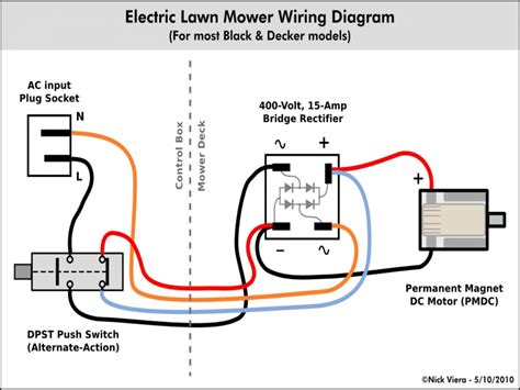 electric lawn mower wiring diagram images wiring diagram lawn electric lawn mowers electric circuit wiring diagram picture