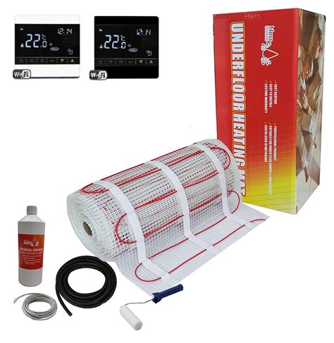 Electric Underfloor Heating Kit Systems