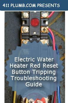 water heater switch wiring diagram images electric water heater red reset button tripping