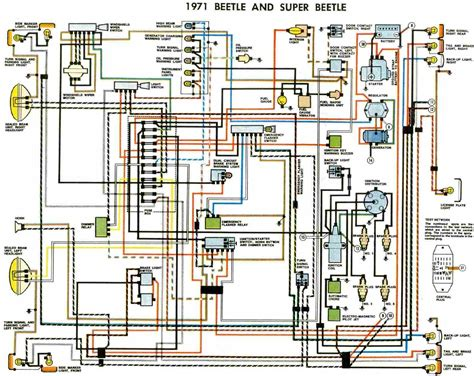 1971 volkswagen super beetle wiring diagram images 1976 79 super electrical wiring diagram of 1971 volkswagen beetle and