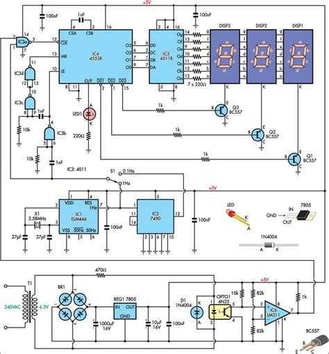 Electronic circuits schematics diagram for free