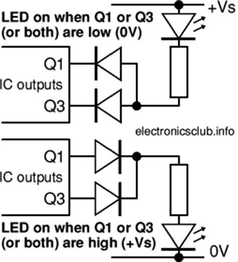 Electronics Club Integrated Circuits ICs pin numbers