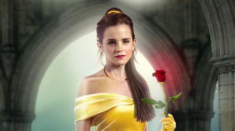 Emma Watson makes beautiful Belle in Beauty And The Beast