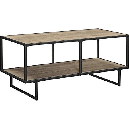 Emmett 42 TV Stand Coffee Table with Metal Frame Sonoma