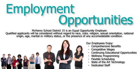 Employment Opportunities Human Resources