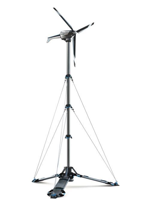 Eolic A Foldable Portable Wind Turbine Inhabitat