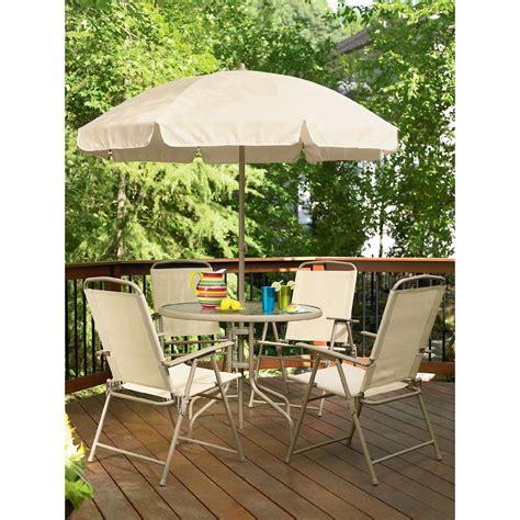 Essential Garden Folding 6 Piece Patio Set Limited