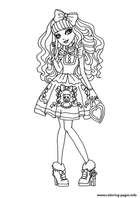Ever After High dolls games videos coloring pages and