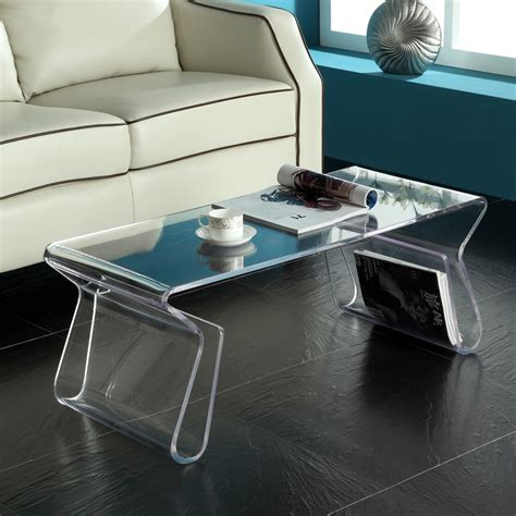 Exclusive Clear acrylic coffee table Deals