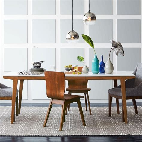 Expandable White Dining Table Modern Dining Tables