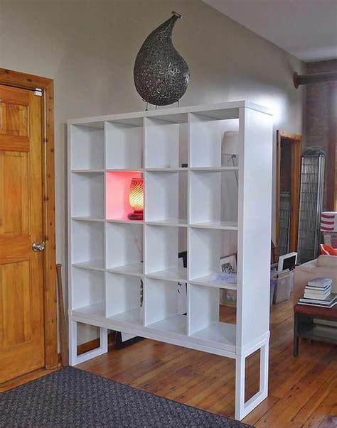 Expedit built in room divider IKEA Hackers IKEA Hackers