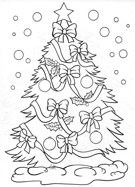Explore Christmas Tree Coloring Page and more Pinterest