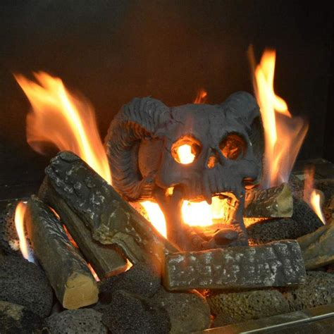 FIREPROOF SKULLS For Your Firepit Backyard
