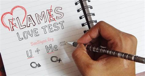 FLAMES The Love Test Game